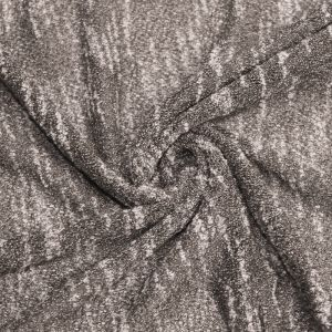 63X72'' Cut Taupe Dark Crepe 2 Tone Open Knit Jersey  Rayon Poly Jersey Knit Fabric for Newborn Photography Back Drops and Bean Bag Covers