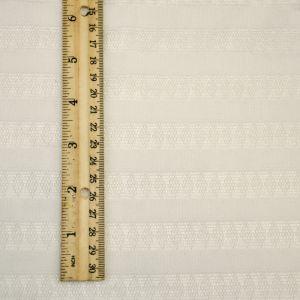 White Stripe Jersey Knit Fabric