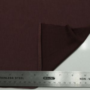 Wine Dark Modal Poly Sand Wash Jersey Cupro Knit Fabric