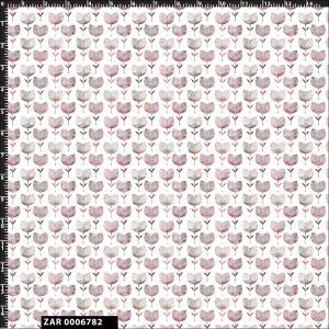 Seamless Floral Design 100% Cotton Quilting Fabric by the Yard