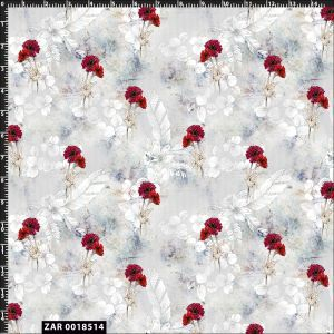 Boho feather and Flower Design 100% Cotton Quilting Fabric by the Yard